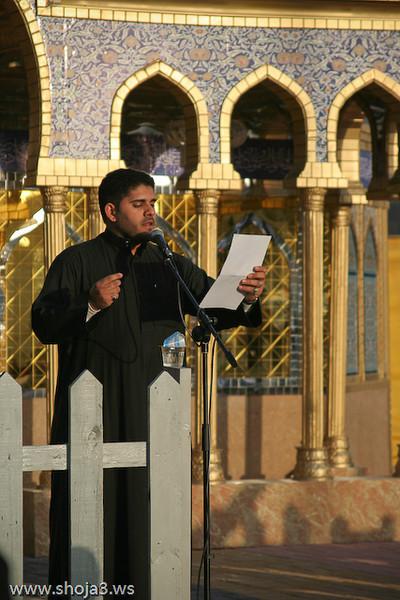 الرادود الحسيني جاسم المقيلي  عزاء الزنجيل بالقديح - يوم 6 محرم 1430 هـ