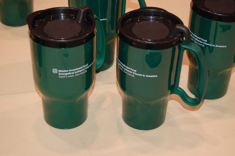 Biodegradable coffee mugs. How? We have NO idea!