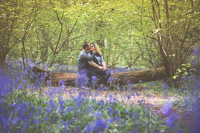 Beth & Matt Bluebell Engagement