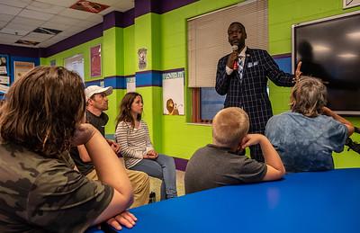Students, Parents Visit Teachers