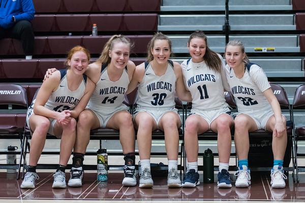 2019-20 Girls Varsity Basketball vs. University of Spokane - POA Tourney