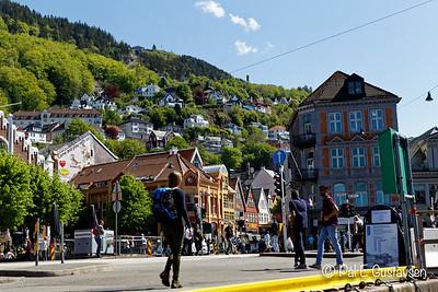 Fra Bergen til Halden med båt
