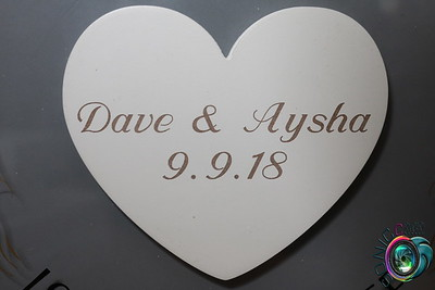 SEPTEMBER 9TH, 2018: DAVE AND AYSHA'S WEDDING AND RECEPTION #LOVEINTHEPARKES