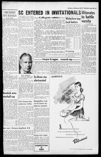 Daily Trojan, Vol. 36, No. 130, May 25, 1945