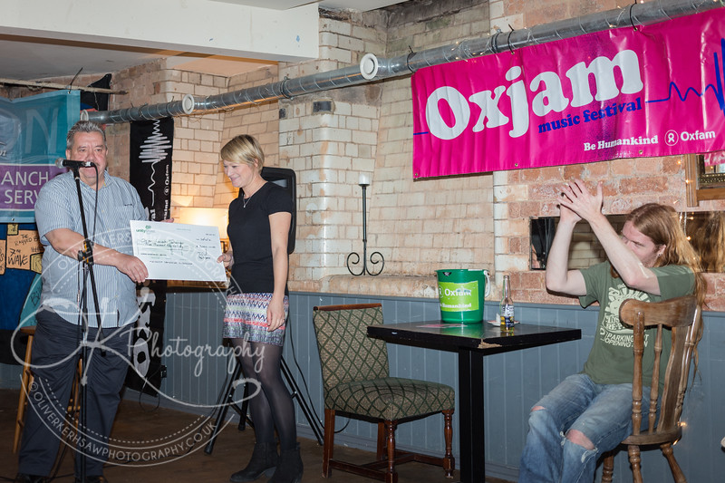 Oxjam Launch Party 2013