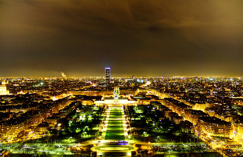 South East of the Eiffel Tower