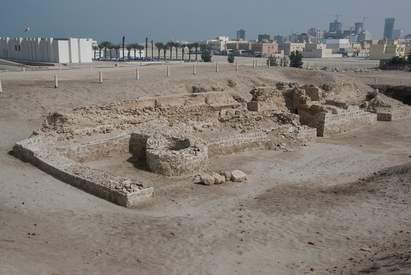 Qal'at al-Bahrain or Portugal Fort in Bahrain