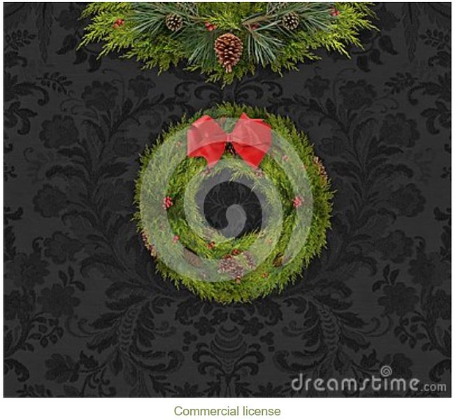 wreath on dark damask.JPG