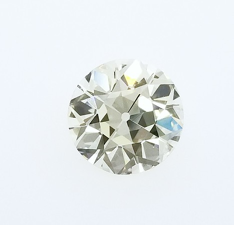 2.43ct Old European Cut Diamond - GIA Q/R, VS1