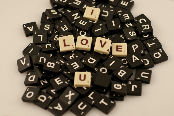 Scrabble Greeting Cards