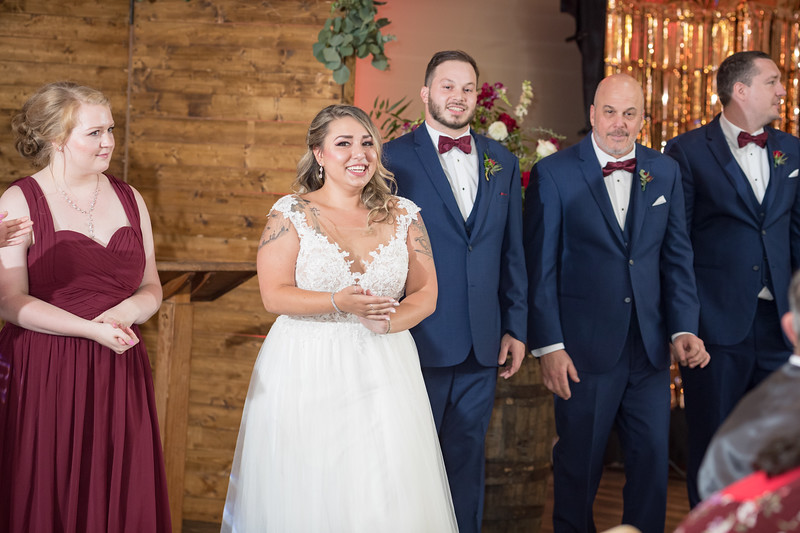Casi & Alex's wedding day at Copper Roux in Lexington, 9.02.19.
