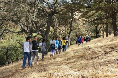 Hiking on SMD's Mangini Ranch