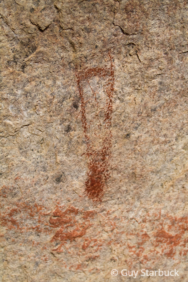 Sky Cross Pictograph Site