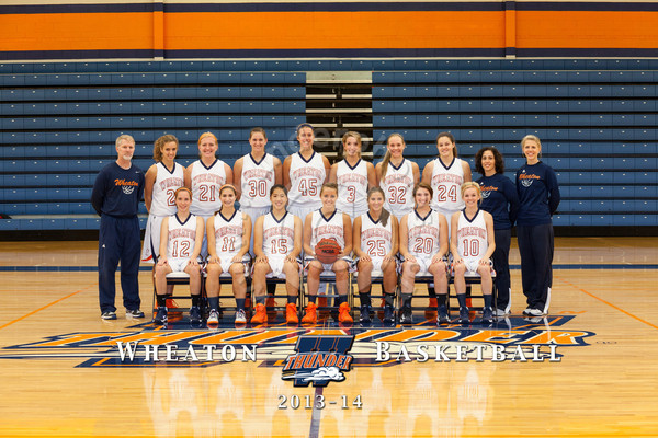 Wheaton College 2013-14 Women's Basketball Team