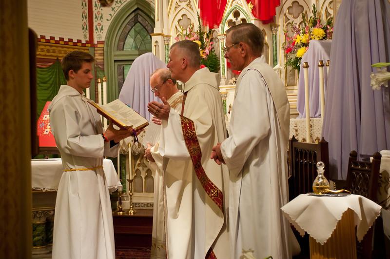 2012 Easter Vigil Mass