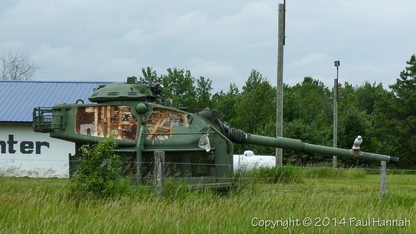 Carl's Sport Center - Cadillac, MI - M60 Turret Trainer