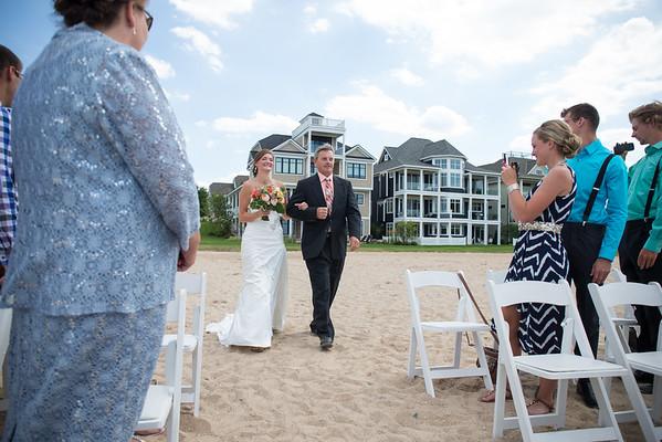 Raquel + Tom / Bay Harbor Sunset Beach Wedding Photography