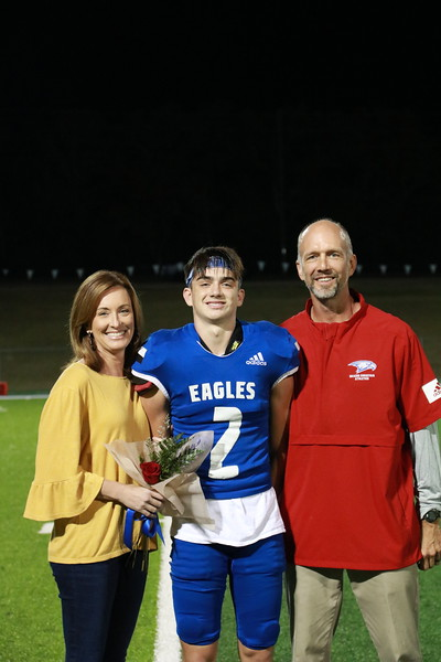 2020-21 Senior Night Football/Cheer