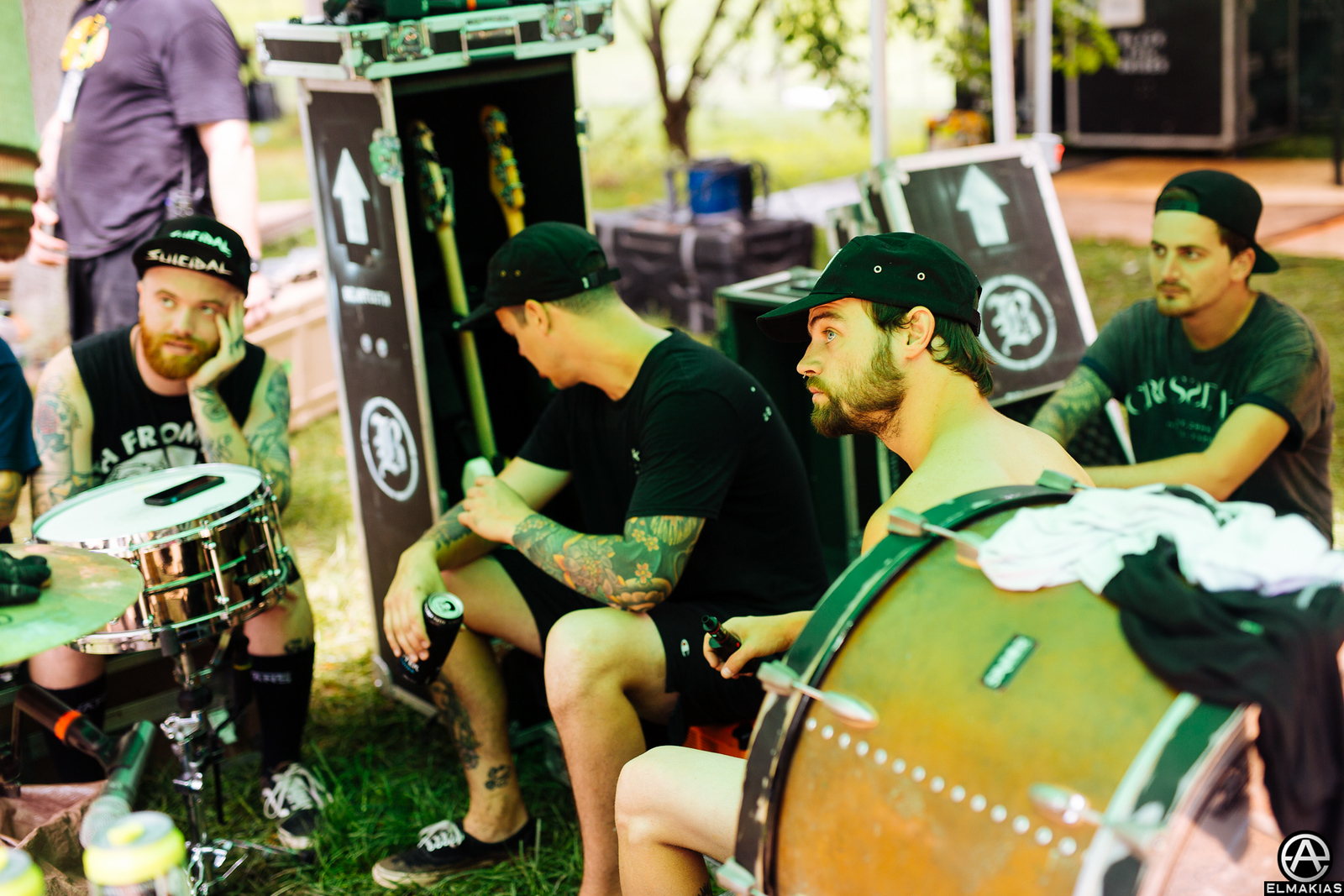Beartooth at Vans Warped Tour 2015 by Adam Elmakias