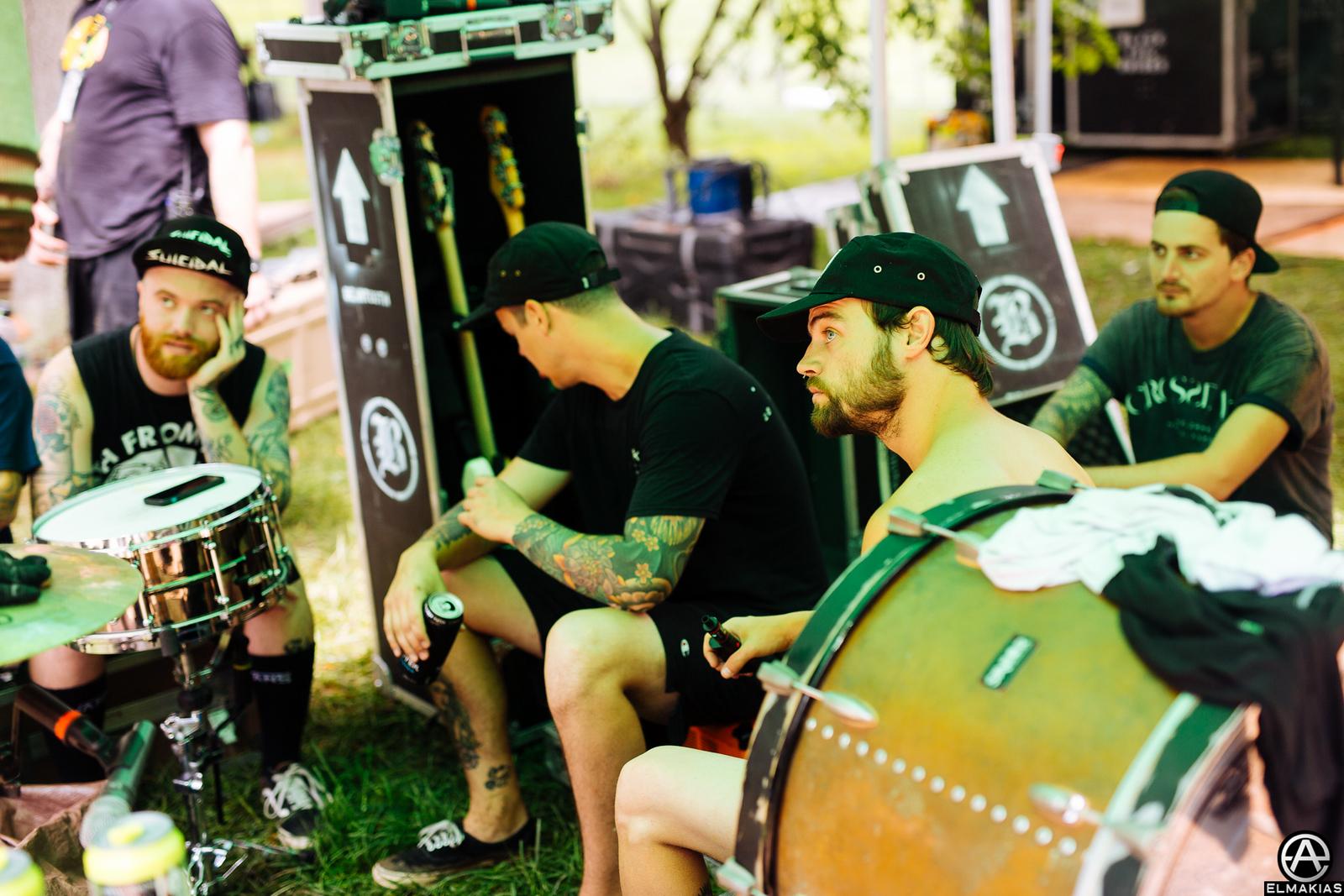 Beartooth at Vans Warped Tour 2015 by Adam Elmakias