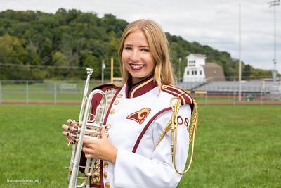 Ross High School Band Seniors 2018
