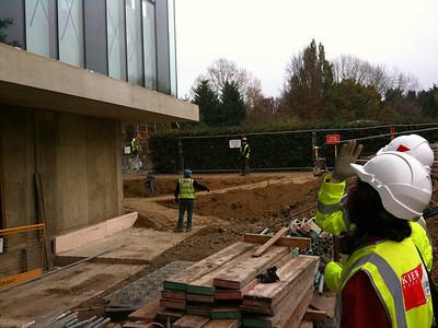 Sainsbury Lab Cambridge Under Construction