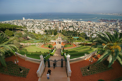 Haifa , Israel travel with Sony A850, high resolution photos