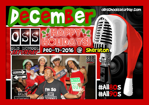 Dec-17-2016 OSS Holiday Edition @ Sheraton Downtown ::: ATL, GA, USA