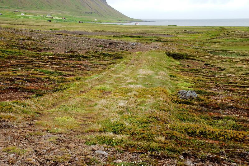Gamli sýsluvegurinn i Aðalvík.