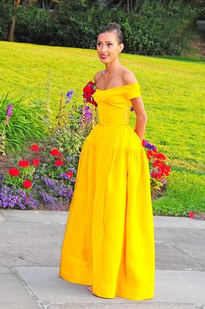 1940s dress outside SAAM 9-21-14