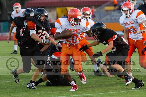 Boone Freshman Football #20 - 2012