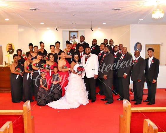 OJ and Kiesha Wedding