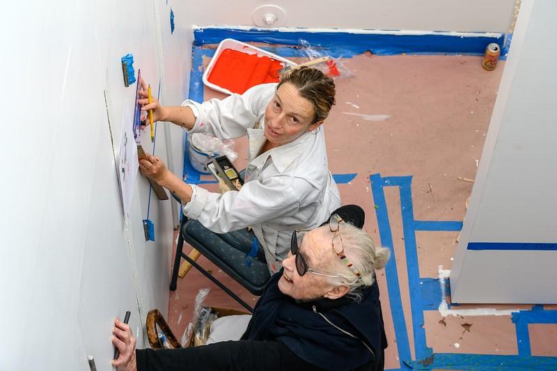 Barbara Stauffacher Solomon - Working Hard