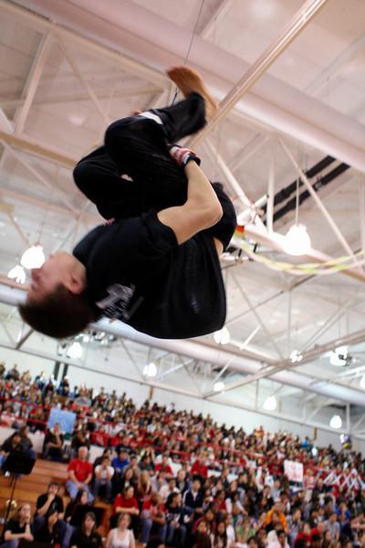 2008.03.14 - Boys' Gymnastics - Spring Pep Assembly