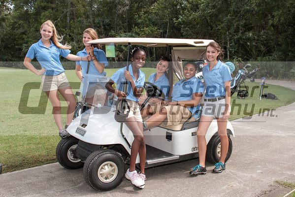 Heritage Girls Golf 9-12-12