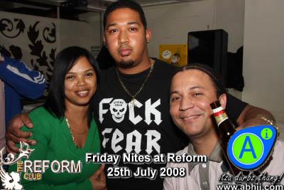 Reform - 25th July 2008