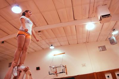 Ukia High Cheerleaders