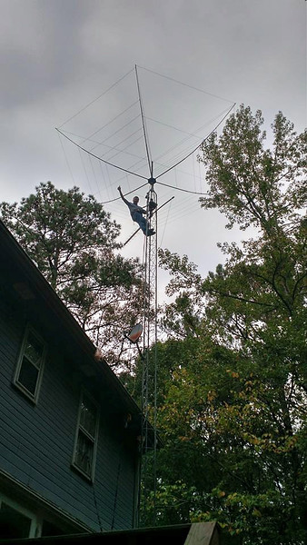 Hex Beam antenna party at N4NR