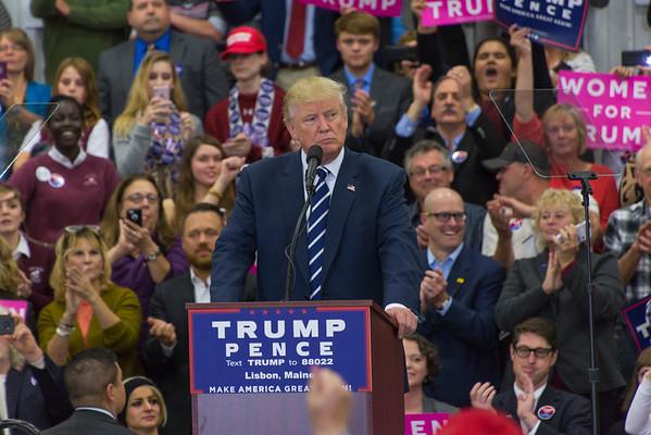 Trump Rally, Lisbon, Maine