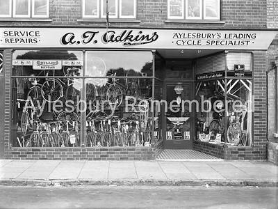 Adkins cycle shop, High Street