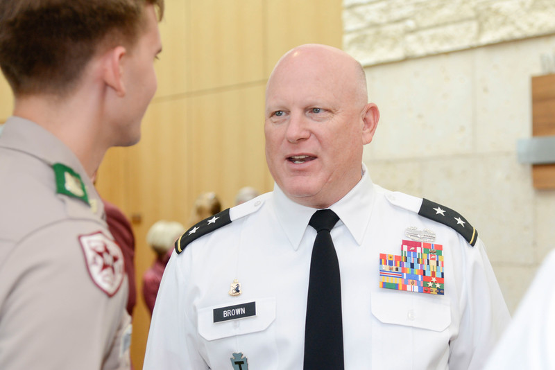 "Maj.Gen. James ""Red"" Brown"