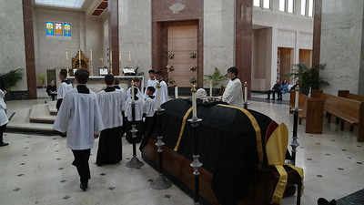 Solemn Requiem Mass at Holy Cross Cemetery (11/16/19)