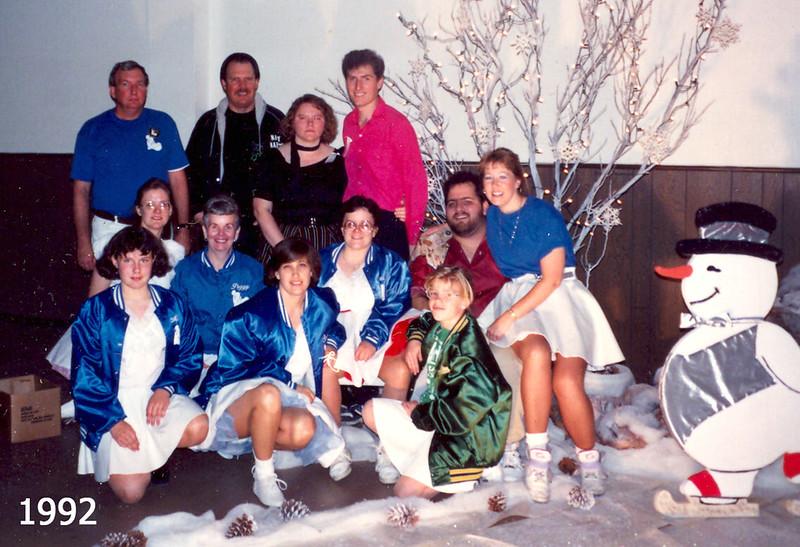 BHC and DMC at Holiday Hoedown 1992