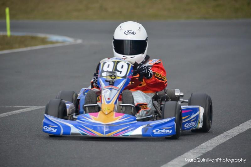 Irish Karting Club - Round 2 2013 - Alyx Coby