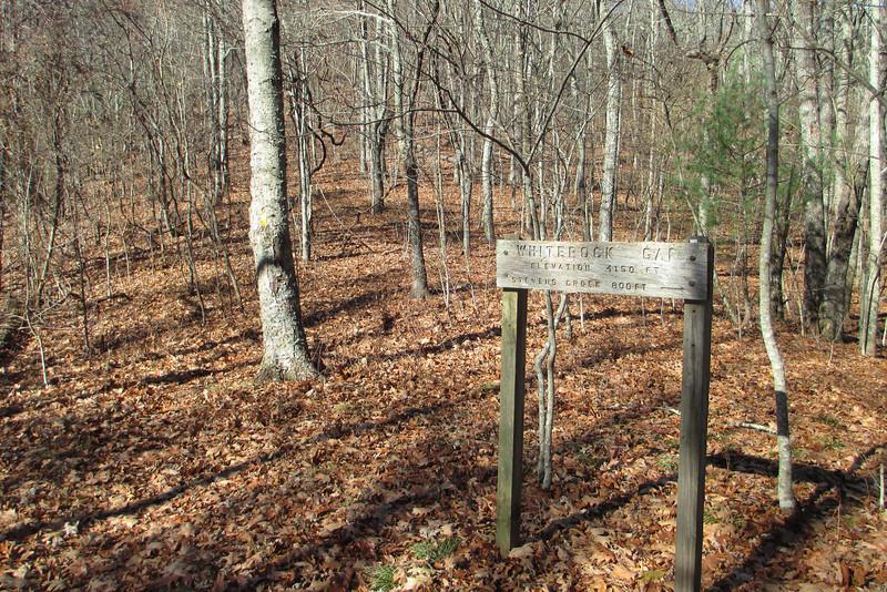 Bartram Trail - Whiterock Gap