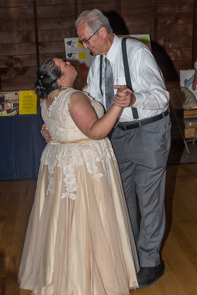 """On June 30, 2019, Ms. Rosie Graf &  Mr. Matt Zuhl were married in Columbia, MD at """"The Other Barn""""."""
