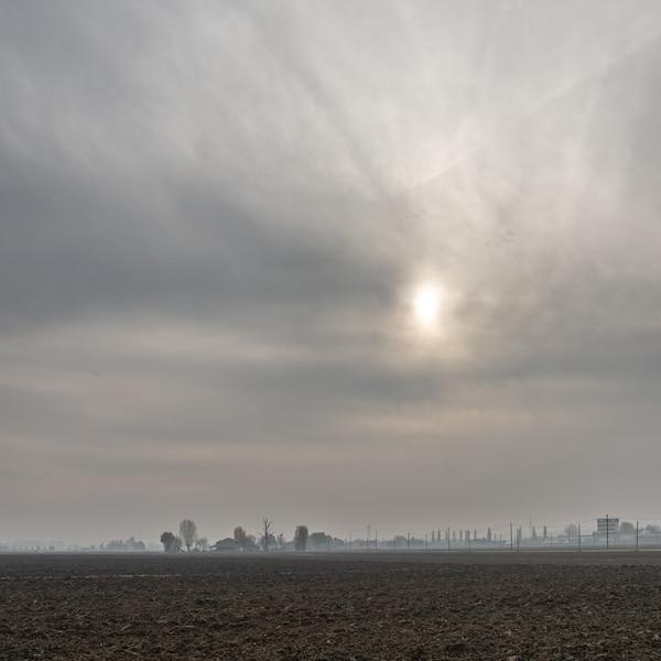 Morning Fog - San Giovanni in Persiceto, Bologna, Italy - November 30, 2018