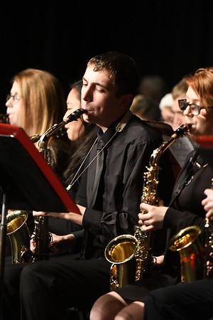 Jazz Band at Winter Concert