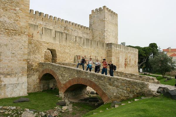 Lisboa Portugal - Castelo S. Jorge - March 2008