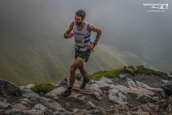 Ben Nevis Race 2018 - Uphill at 2.3 Miles